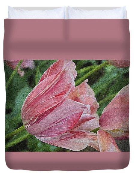 Tulip Tears Duvet Cover