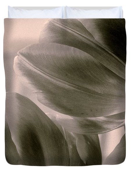 Tulips 2 Light Space Time  Botanicals Art Exhibition 2014  Special Merit Award Duvet Cover