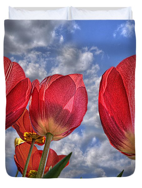 Tulips Are Better Than One Duvet Cover