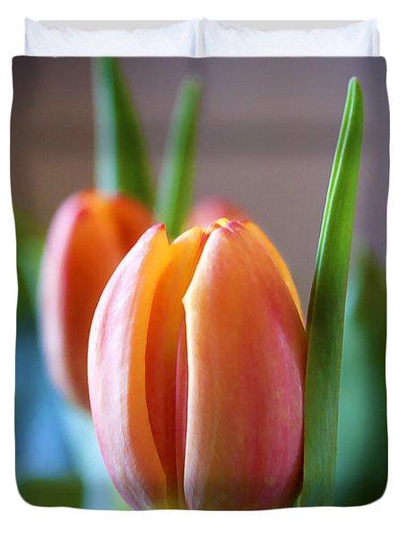 Tulips Artistry Duvet Cover