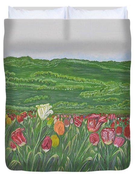 Tulips Dream Duvet Cover