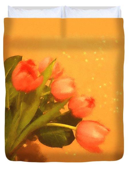 Tulips Duvet Duvet Cover