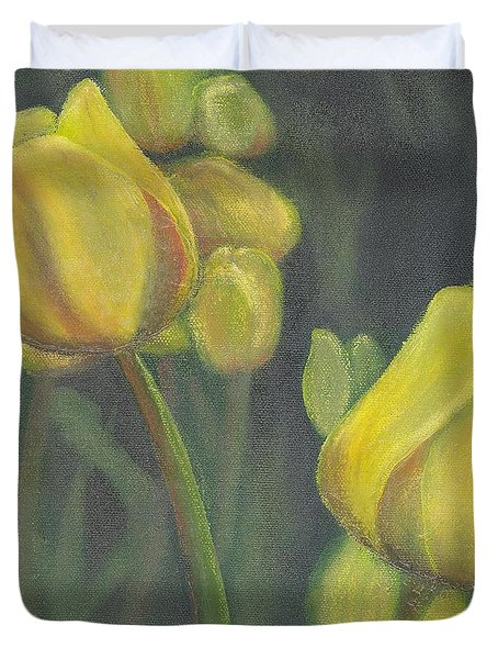 'tulips Stand' Duvet Cover