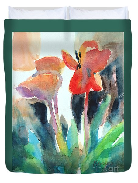 Tulips Together Duvet Cover