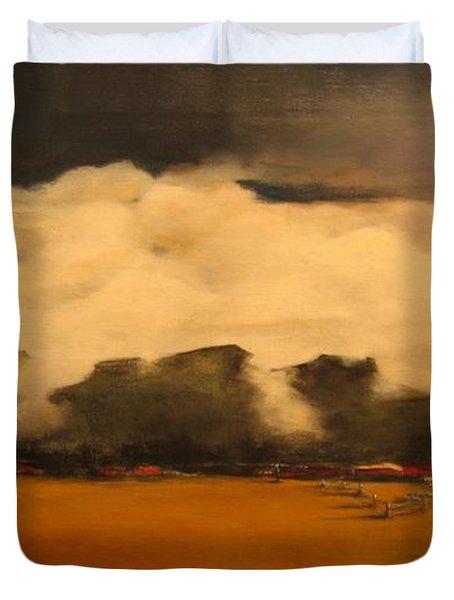 Tumbling Clouds Duvet Cover
