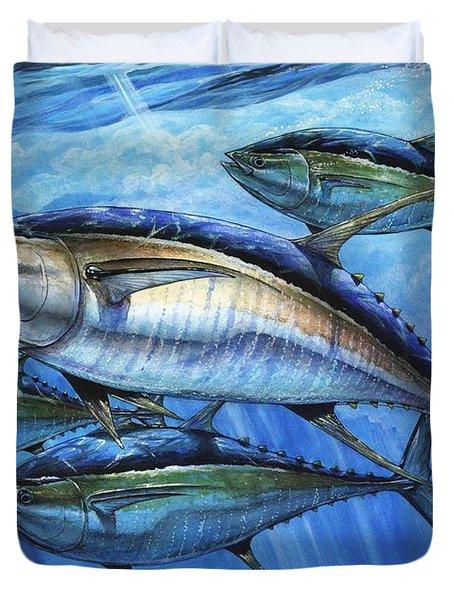 Tuna In Advanced Duvet Cover