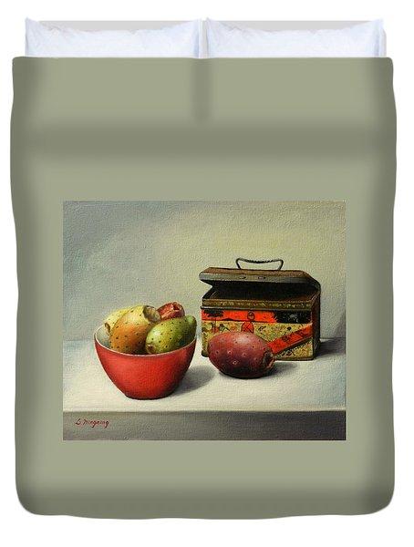 Tunas And Chinese Box, Peru Impression Duvet Cover