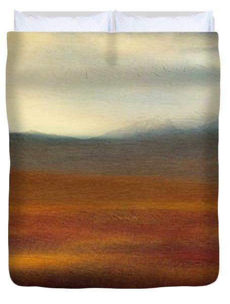 Tundra Autumn Melody Duvet Cover by Priska Wettstein