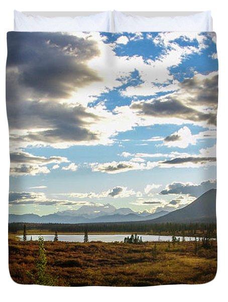Tundra Burst Duvet Cover by Chad Dutson