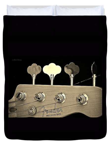 Fender Precision Bass Duvet Cover