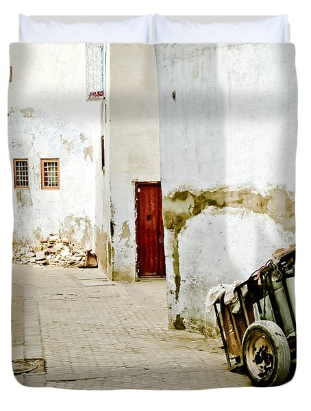 Tunisian Girl Duvet Cover