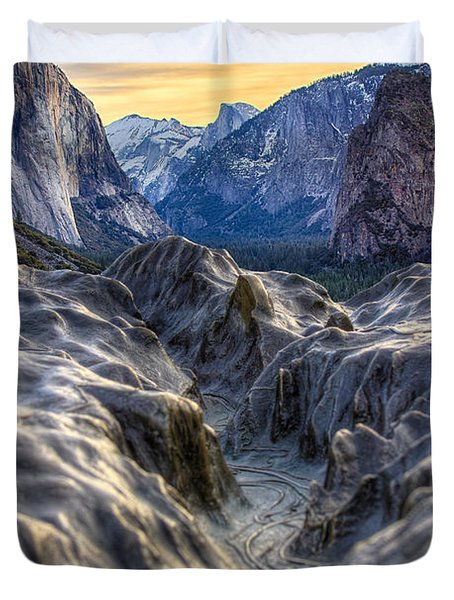 Tunnel View Duvet Cover