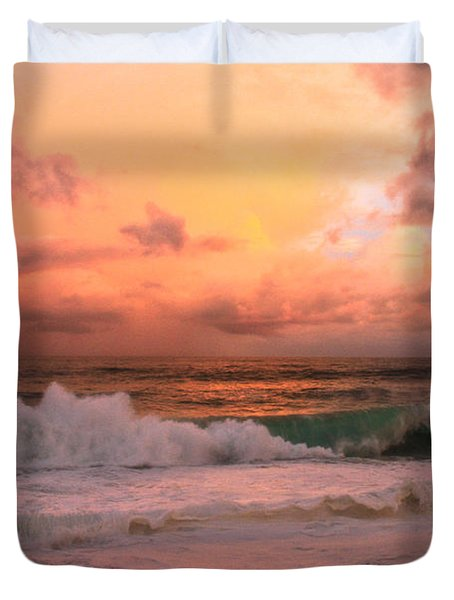 Duvet Cover featuring the photograph Turbulence  by Eti Reid