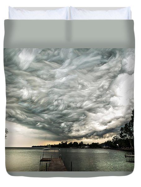 Turbulent Airflow Duvet Cover