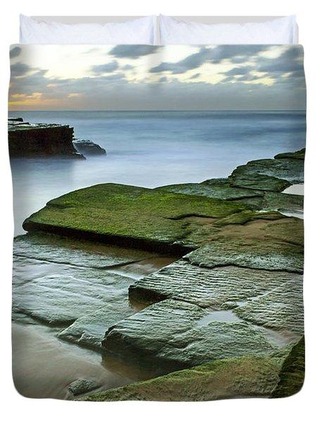 Turimetta Beach Sunrise Duvet Cover