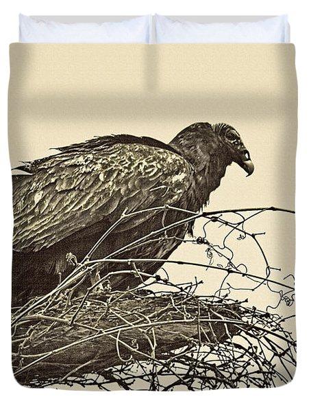 Turkey Vulture V2 Duvet Cover