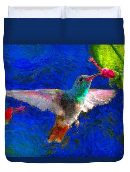 Da052 Turkscap Hummingbird  Duvet Cover