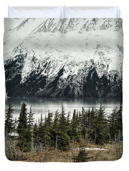 Turnagain Arm  Duvet Cover