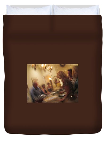 Turning 40 Duvet Cover