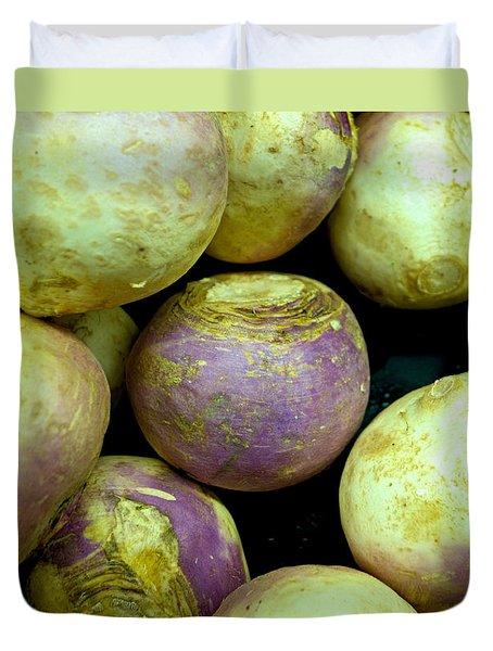 Turnips Duvet Cover