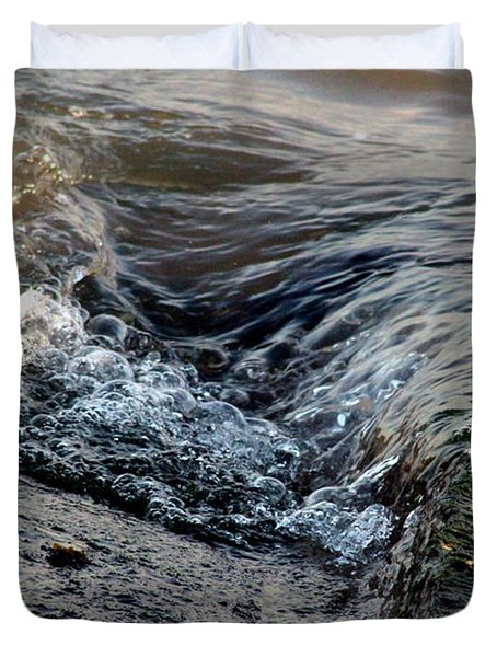 Turnstone By The Water Duvet Cover