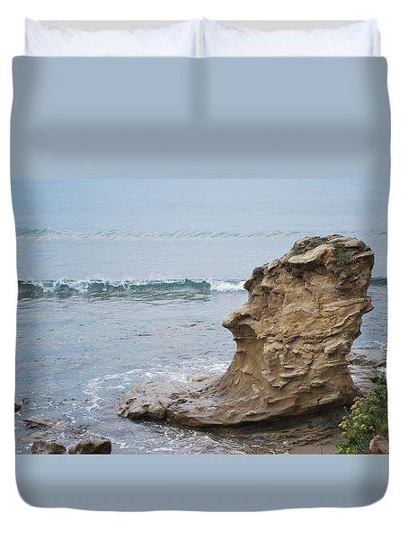 Turquoise Sea Duvet Cover