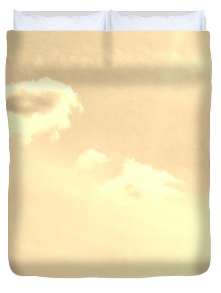 Turtle Cloud Bliss Duvet Cover