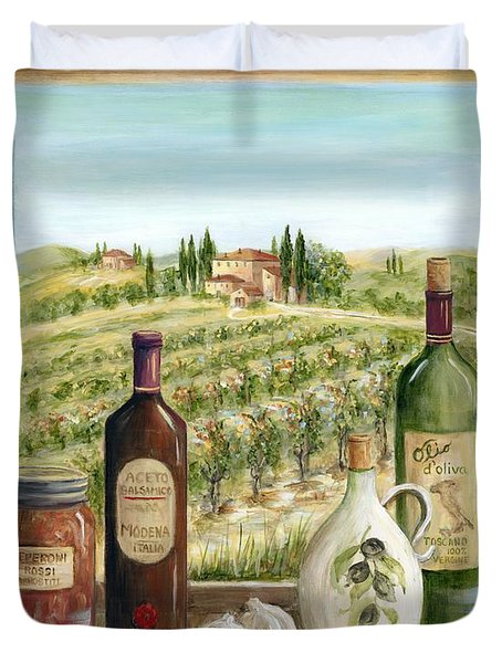 Tuscan Delights Duvet Cover