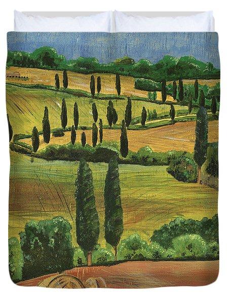 Tuscan Dream 1 Duvet Cover by Debbie DeWitt