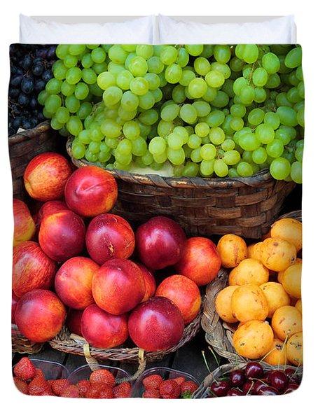 Tuscan Fruit Duvet Cover