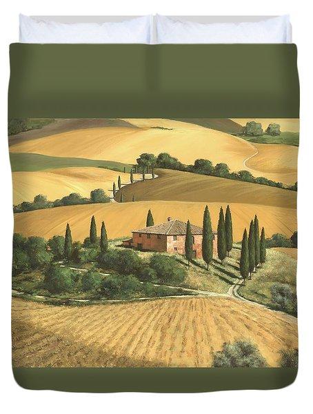 Tuscan Gold  Duvet Cover