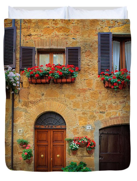 Tuscan Homes Duvet Cover