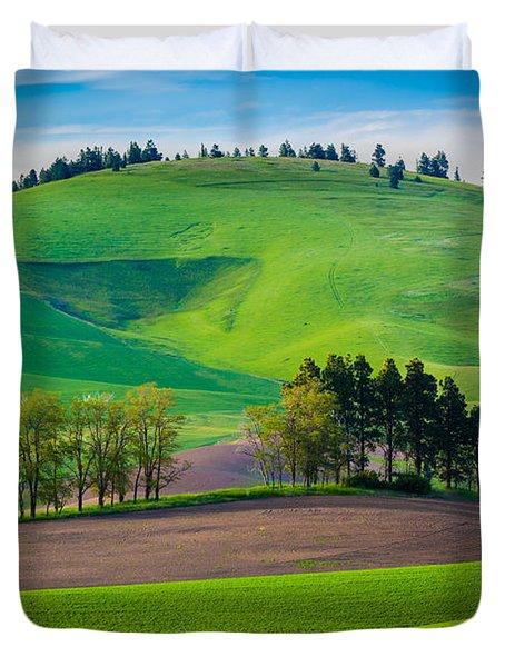 Tuscan Palouse Duvet Cover