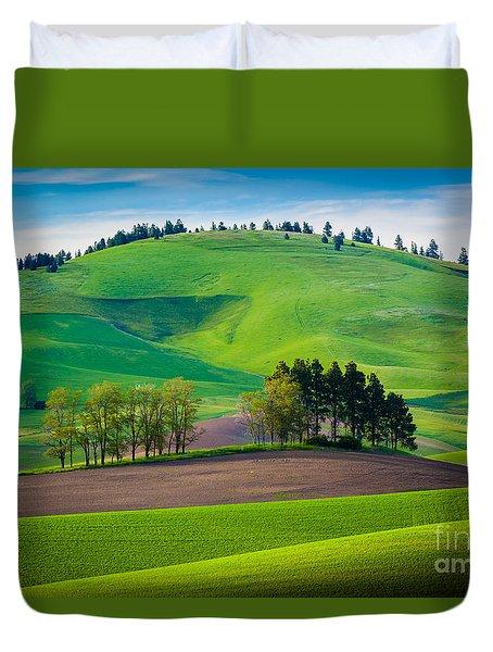 Tuscan Palouse Duvet Cover by Inge Johnsson