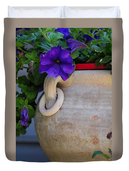 Tuscan Pot Duvet Cover