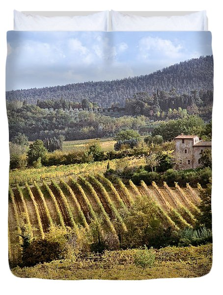 Tuscan Valley Duvet Cover