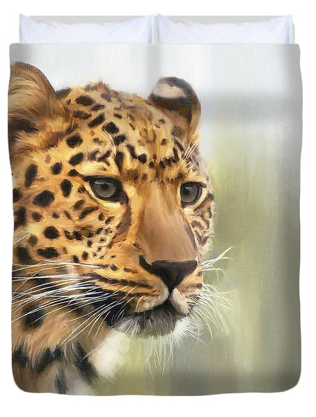 Tutku Duvet Cover by Greg Collins