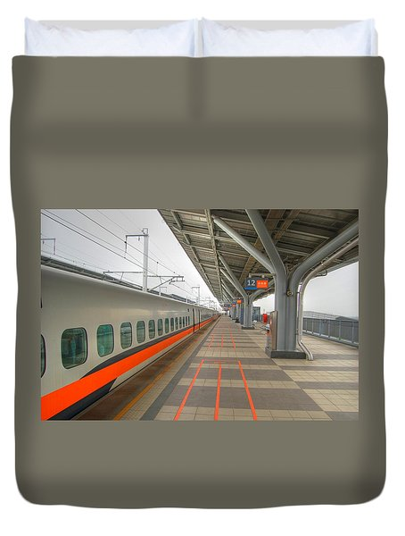 Tw Bullet Train 2 Duvet Cover