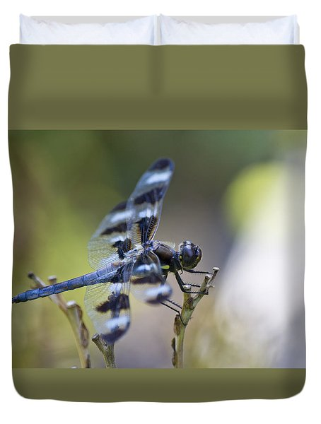 Twelve Spot Hanging Out Duvet Cover by Shelly Gunderson