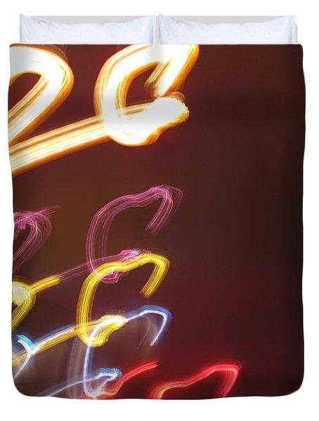 Duvet Cover featuring the photograph Twenty by Ausra Huntington nee Paulauskaite