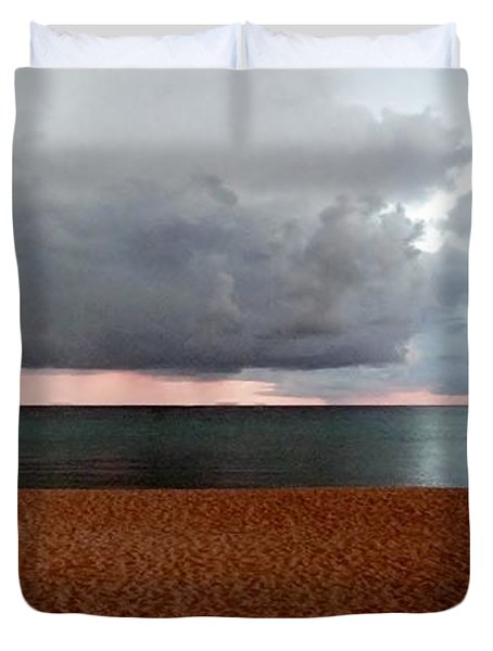 Twilight Chase Duvet Cover by Amar Sheow