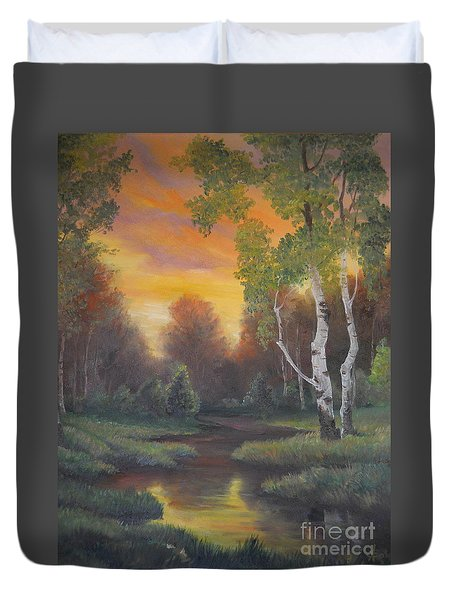 Twilight Fall  Duvet Cover