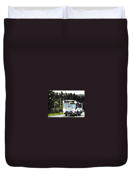 Twilight In Forks Wa 1 Duvet Cover by Sadie Reneau