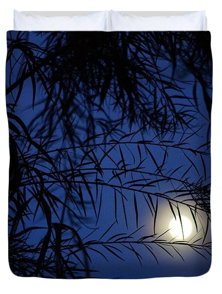 Twilight Moon Duvet Cover