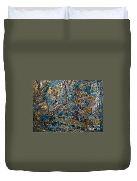 Twilight Sails Duvet Cover
