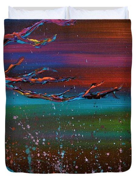 Twilight Sun Duvet Cover