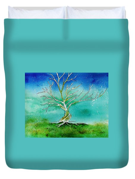 Twilight Tree Duvet Cover