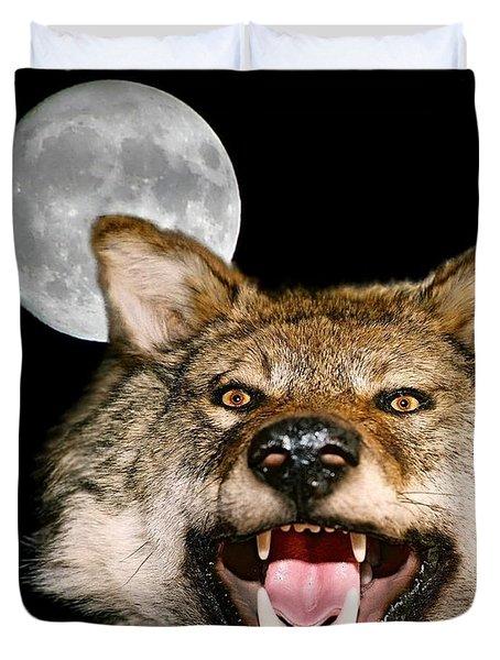 Twilight's Full Moon Duvet Cover by Patrick Witz