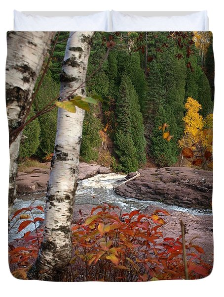 Twin Aspens Duvet Cover