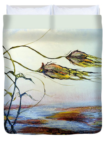 Twin Breezes Duvet Cover